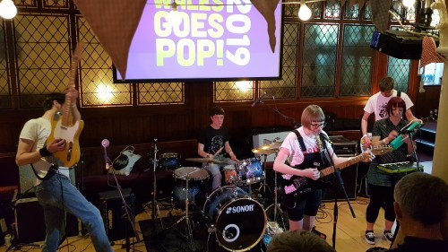 Oh Peas! at Wales Goes Pop 2019